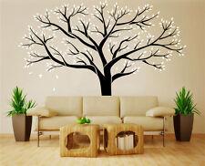 Mano Tallado árbol familiar bed/living habitación Vinilo el arte de pared en casa de la etiqueta engomada del Reino Unido rui58