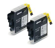 LC985 / LC39 x2 Black Compatible Printer Ink Cartridges