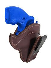 "New Barsony Burgundy Leather Tuckable IWB Holster 2"" 22 38 357 41 44 Revolvers"