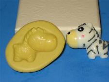Baby Zebra Silicone Push Mold A112 Fondnat Gumpaste Resin Clay Chocolate Soap