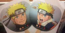 Bandai Naruto Shippuden Shonen Jump Viz Promo Anime Hand Fan WonderCon Comic Con
