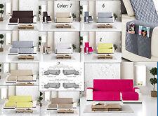 housses pour canapé chaise longue tissu réversible rembourrée 1 ,2,3,4 Sofabezug