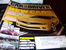 Car & Driver Magazine Sept 2008 Chevy Camaro