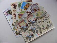 TBZ hojas de elaboración de tarjetas en relieve Decoupage Adornos Decoraciones álbum de recortes