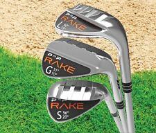 Sand Lob Gap Golf Wedge Club Combo PnP Rake Flex Steel Stiff Regular Grip Tour