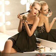 Joanne Kitten Evening Party Little Black Dress LBD with Lace Bodice JK-8133