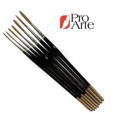 Pro Arte Series 103 Watercolour Artists Rigger Brushes Prolene long hair brush