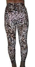 HIGH WAIST ZIPPER ANIMAL CHEETAH  UNIQUE PRINT LEGGINGS PANTS ONE P9051
