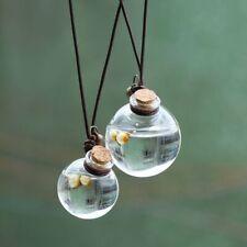 Air Freshener Perfume Hanging Bottle Pendant for Essential Oils Car-styling HOT