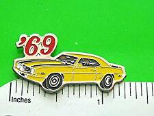 pin, lapel pin, tie tac Gift Boxed '69 1969 Chevrolet Camaro Rs car - hat