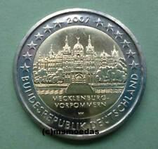 Deutschland 2 Euro Gedenkmünze 2007 Schwerin Euromünze commemorative Wahl ADFGJ