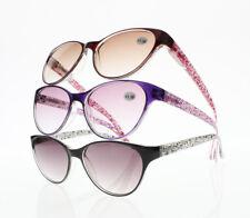 Women Multi-Color Cat Eye Frame Colored Lens Reading Glasses Reader +1.0 ~ +4.0