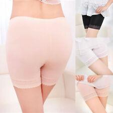 Ladies Women Elastic Safety Lace Soft Under Shorts Pants Underwear Shorts HOT