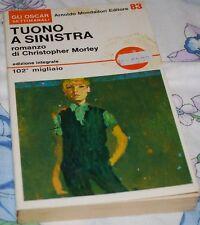 MORLEY - TUONO A SINISTRA - Mondadori Oscar 83