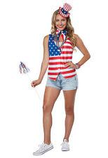 California Costume Patriot Lady Kit USA Adult Womens Halloween Costume 60687