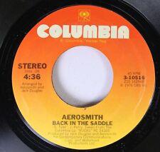 Rock 45 Aerosmith - Back In The Saddle / Nobody'S Fault On Columbia
