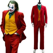 2019 DC Movie Joker Joaquin Phoenix Arthur Fleck Cosplay Outfit Suit Costume