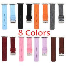 Sports Royal Woven Nylon Wrist Band Strap Bracelet For Apple Watch 38/42mm 1 2 3
