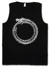 OUROBOROS TANK TOP Serpent Dragon Ancient Myths Mythologie Snake Schlange Drache
