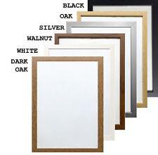 Home Decor Photo & Picture Frames Multi Sizes Poster Frames White Black Oak