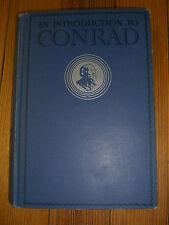 An Introduction to Conrad - by Frank. W. Cushwa -1st/6th prinitng-Odyssey-1933