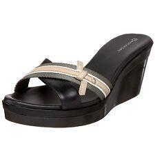 Rockport Rachel Ribbon Slide Chaussures Femme 38 Mules Sabots Sandales UK5 Neuf