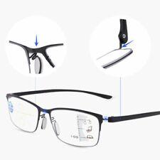 Men Women Progressive Multi Focus Reading Glasses Anti-Blue Presbyopic Glasses