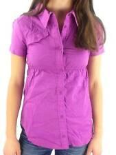 Original O'NEILL haut chemise tunique COOPER 'S Violet Col Poches Poitrine