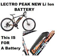 Lectro PEAK NEW Li -Ion BATTERY 36v