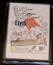 Elvis  'Kissin'  Cousins'  FRIDGE MAGNET