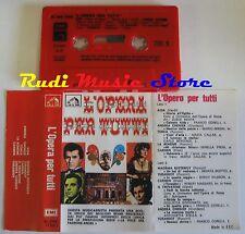 MC L'OPERA PER TUTTI LA VOCE DEL PADRONE EMI EEC 3C 245 17021 no cd lp dvd vhs