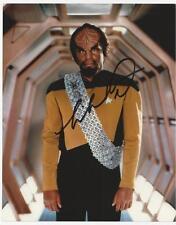 Michael Dorn - Star Trek TNG signed photo