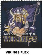 NFL Minnesota Vikings Mascot cross stitch pattern