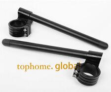 For GSXR600 1997-2003 45mm Fork Clip-ons Handle Bar Riser High BLK US 2001 2002