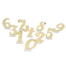 0-9 Numero di tabella acrilico indipendente per la decorazione della tavola