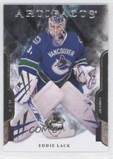 2011-12 Upper Deck Artifacts 229 Eddie Lack Vancouver Canucks Rookie Hockey Card