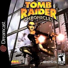TOMB RAIDER: CHRONICLES (OOP): DREAMCAST,  Sega Dreamcast, Sega Dreamcast Video