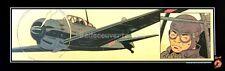 Affiche Offset BERTHET Avion 25X78