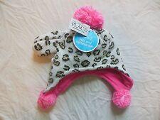 NWT The Children's Place Toddler Girls BEANIE HAT & Mittens CHEETAH Leopard