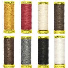 A Strong Natural Thread Gutermann Thread Linen 50m Spool #5905 Grey