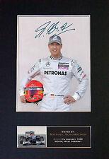 Michael schumacher signé monté autographe photo imprime A4 425