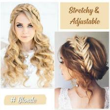 Bohemian Easy-Wear Hairbands Elastic Twist Braided Hair Headband Wig Fishtail