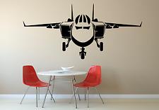 Avión Jet Cool Niños Niñas Niños Casa Pared Calcomanía Adhesivo AR6