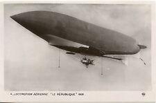 CARTE POSTALE AVIATION / LOCOMOTION AERIENNE LE REPUBLIQUE 1908
