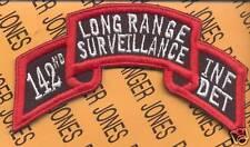 142nd Inf Det LRS Airborne Ranger 42 Div NYARNG patch