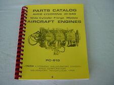 LYCOMING  ENGINE  I0-540   PARTS MANUAL  -8