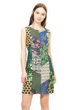 Desigual Beautiful Patchwork Calista Pinafore Dress 36-46 UK 8-18 RRP?119