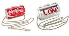 RED CLASSIC COCA-COLA+GREY,GRAY DIET COKE CAN CROSSBODY,PURSE BAG NEW IN BOX