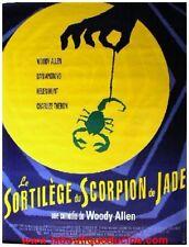 LE SORTILEGE DU SCORPION DE JADE Affiche Cinéma / Movie Poster WOODY ALLEN