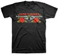 GUNS N ROSES - Roses & Pistols - T SHIRT S-M-L-XL-2XL Brand New - Official